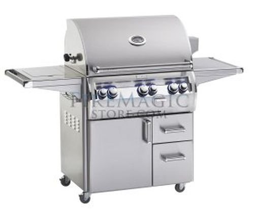 "Echelon Diamond E790S-4EAN-62-W ""A"" Series Stand Alone Grill - NG Fire Magic Grills"