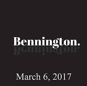 Bennington, March 6, 2017 Radio/TV Program