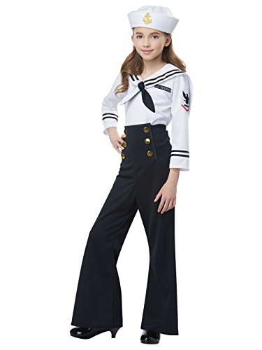 Navy - Sailor Girl - Child Costume -