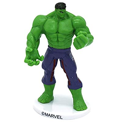 Dekora 347169 Hulk, Verte, 9cm: Toys & Games