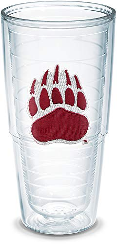 Tervis 1007609 Montana University Emblem Individually Boxed Tumbler, 24 oz, Clear