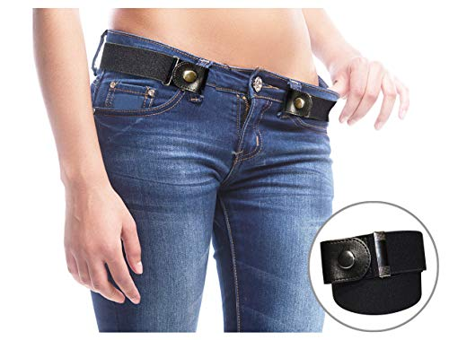 (FreeBelts - Buckle-Free Easy Comfortable Belt. No Bulge, No Hassle. Unisex.)