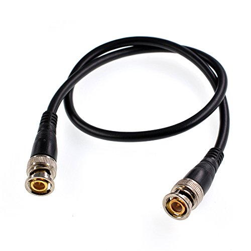 Oiyagai 2Pcs BNC Male to Male Jumper Cable for Oscilloscope and Function Generators (1.0m/3.2ft)