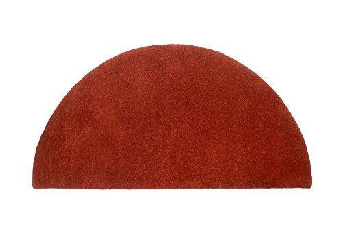 Minuteman International Somerville Red Half Round Wool Hearth Rug