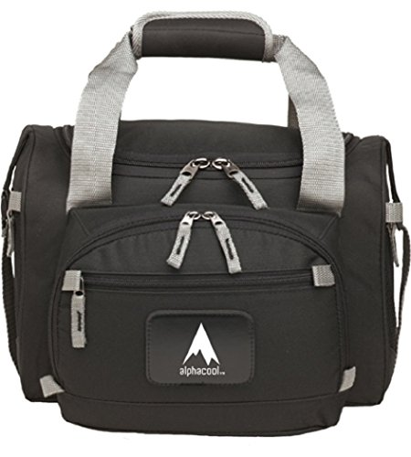 Price comparison product image AlphaCool 12-Can Convertible Duffel Cooler (Black, 12 Can)