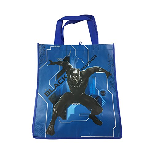 Black Panther T'Challa Blue Tote - Birthday Tote Bag 1st