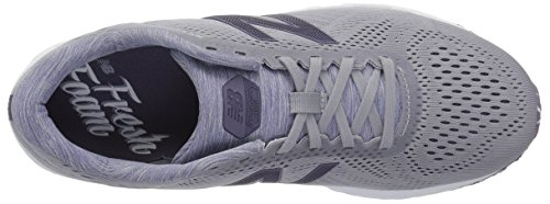 New Balance Women's Fresh Foam Arishi V1 Running Shoe, Light Grey/Purple, 5 B US by New Balance (Image #8)