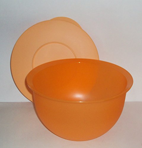 Tupperware Impression 10 Cup Nesting Mixing Bowl Orange