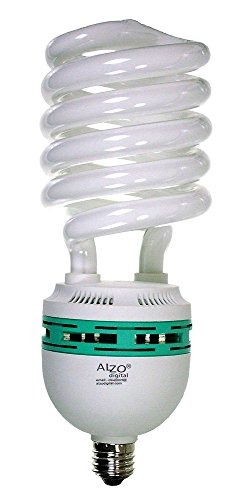 Life Full Spectrum Fluorescent Lamp - ALZO 85W Joyous Light Full Spectrum CFL Light Bulb 5500K, 4250 Lumens, 120V, Daylight White Light, Extra Large