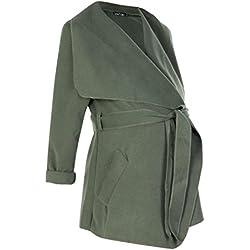 Boohoo Womens Maternity Holly Waterfall Coat