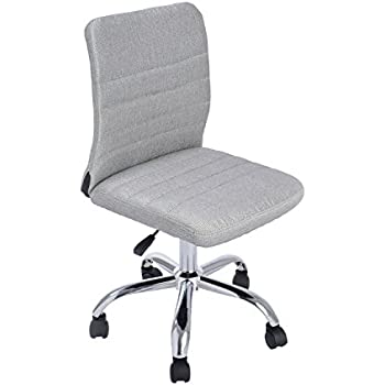 Amazoncom Leick Gray Mesh Back Office Chair Kitchen Dining