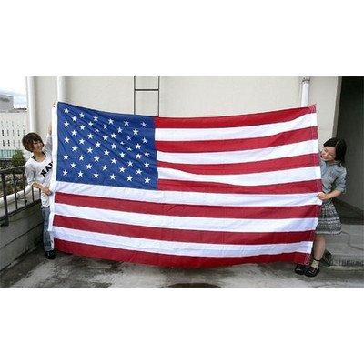 星条旗 AMERICAN FLAG 180×W300cm アメリカ フラッグ USA 米国旗 本格刺繍 特大 アメリカ雑貨 B01MYZ87HC