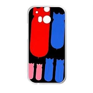 Cute Cool Fashion White HTC M8 case