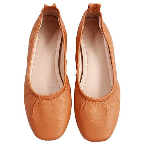 Baja de Zapatos Planos Embarazada Arco Zapatos de Mujer Zapatos de Trabajo Ballet Boca Damas Zapatos Casual Antideslizantes Moda FLYRCX F cómodos de Hq7UXX