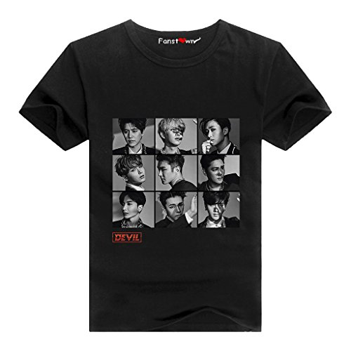 Fanstown Super Junior Kpop Devil Fan Support Shirt