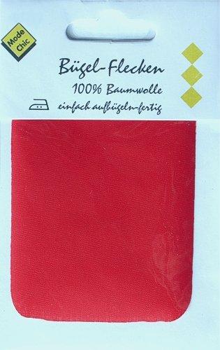1 Bügel-Flecken / Flicken rot 781: Amazon.de: Sport & Freizeit