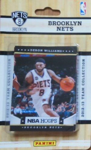 Brooklyn Nets Brand New 2012 / 2013 Hoops Basketball Factory Sealed 10 Card Team Set