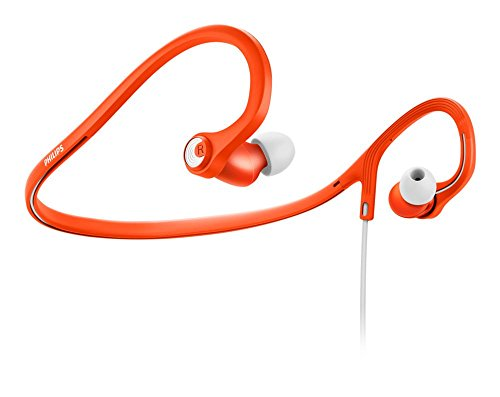 Philips ActionFit Sports in ear headphones SHQ4300 SHQ4300OR 8.6mm drivers/closed-back Neckband Orange