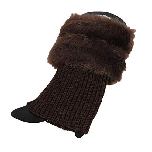 OMIGAI Calcetines de invierno para mujeres Calentadores de piernas, Calcetines cortos de ganchillo Calcetines de lana de punto para mujer: Amazon.es: Ropa y ...