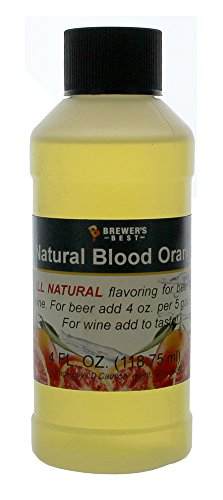 Brewer's Best Natural Beer and Wine Fruit Flavoring (Blood Orange) Blood Orange Flavor