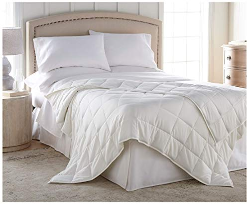 - Harmonia Weighted Blanket 20 lbs :: Cotton Shell, Glass Bead Fill, 60