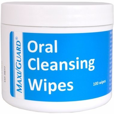 MaxiGuard Oral Cleansing Wipes - 100 Wipes by Maxi-Guard