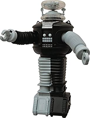 Diamond Select Toys Lost In Space: B9 Electronic Robot Anti-Matter Version Action Figure