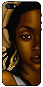 Lauryn Hill v1 iPhone 5S - iPhone 5 Case 3vssG