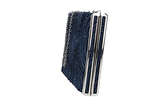 pochette Purse for blue VENTURI metallic opening ceremonies GIANMARCO VN2407 woman rFtgF4