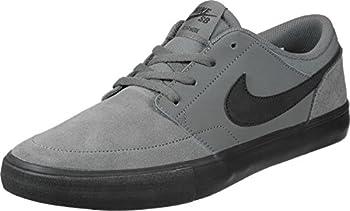 Nike Mens Sb Portmore 2 Solar Dark Greyblack White (9.5) 5