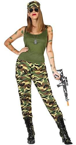 Atosa-54130 Disfraz Militar, Color Verde, XS-S (54130): Amazon.es ...