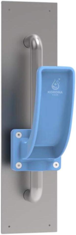 Korona Care No Touch Door Opener Tool No Contact Door Opener Hands Free Arm Pull Door Handle Universal Touchless Non-Contact Tool for All Doors Blue Clean Door Openers for Personal Hygiene