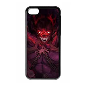 iphone5c Black phone case Shadow Demon Dota 2 DOT9970954