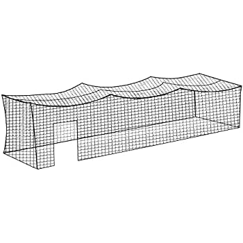 Amazon Com 10 X 10 X 55 Baseball Batting Cage Net