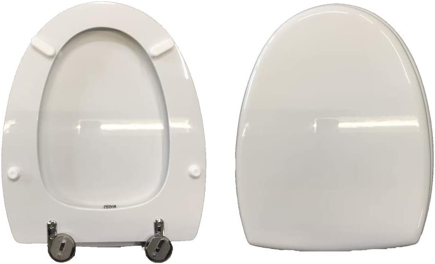 Copriwater NOVELLA DOLOMITE compatibile laccato bianco lucido poliestere