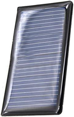 ZHANGJINPING LDTR-WG0096 / B 5 V 60 mA 68 x 37 mm polykristallines Silizium-Solarpanel - SCHWARZ