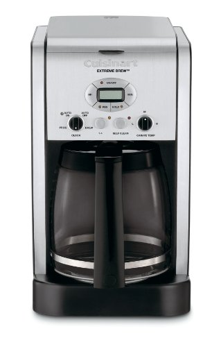 Cuisinart DCC-2650 Brew Central 12-Cup Programmable Coffeemaker - 12 Cup Glass Coffee Maker