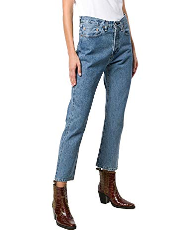 Levi's Made & Crafted Femme 3620000210021 Bleu Coton Jeans