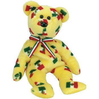 9899000ce21 Amazon.com  Pinata the Beanie Baby Bear with Black Nose  Toys   Games