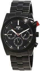 KR3W Men's K1342BLCK Redrum Black Automatic Watch