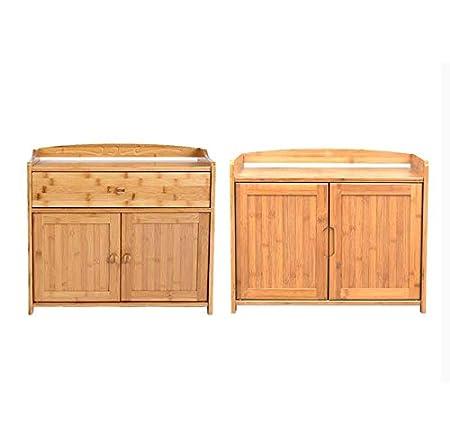 Amazon.com: WY Chic Aparador de madera armario de ...