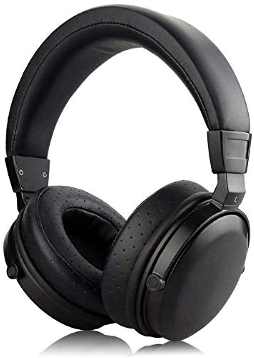 [해외] OKCSC M7 밀폐형 헤드폰 베드 세트 우드 하우징 헤드폰 헤드폰 다이나믹형 노이즈캔슬링 스테레오 고음질 런닝용 유선중 저음착탈식케이블 신축 가능 3.5MM PC ANDROID IPHONE 에 대응 마이크 없음 블랙호두
