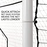 QuickPlay 2in1 Soccer Goal + Rebounder   Use as