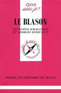 Le Blason par Van den Bogaert
