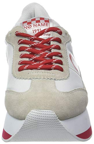 Nylon red Flex Baskets suede Name white Multicolore No Femme white 01 Jogger BavHtxwwq