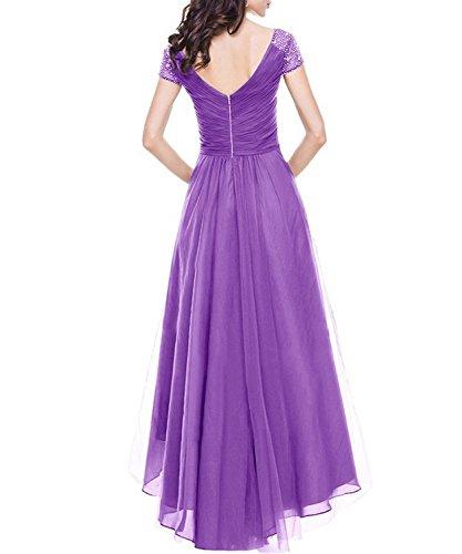 Femme Robe DEMO Trapze Violet SHOW p7wXZ