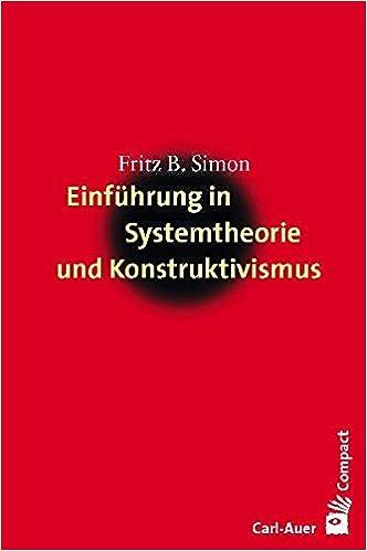 Cover Fritz B. Simon: Einführung in Systemtheorie und Konstruktivismus