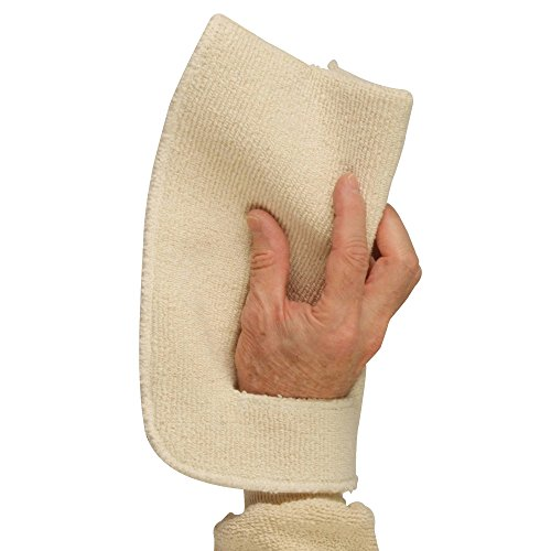 UltraSource Slotted Terry Cloth Pot Holder/Oven Mitt, Heat Resistant up to 450°F (Each) ()