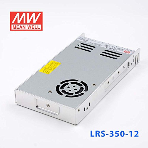 MEAN WELL LRS-350-12 Switching Power Supply 350W 12V 29A Constant Current by MEAN WELL (Image #3)