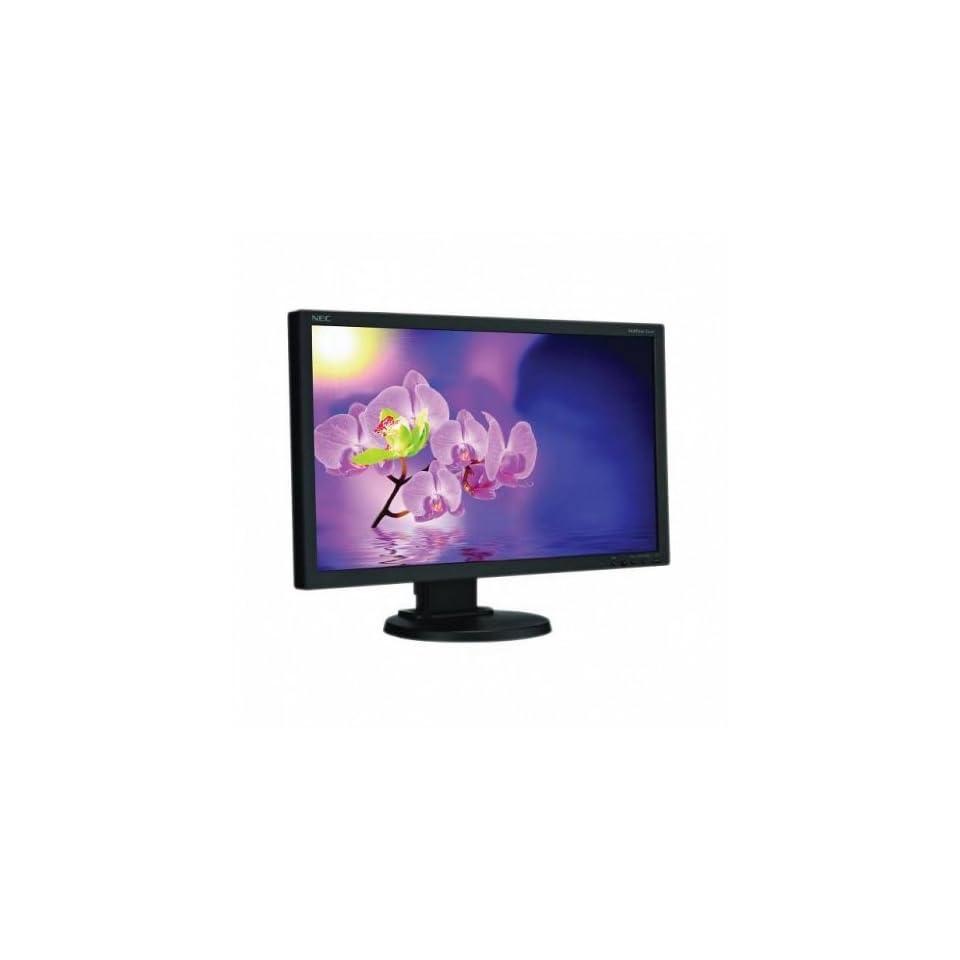 NEC MultiSync E231W BK 23 inch 25,0001 5ms VGA/DVI/DisplayPort LCD Monitor (Black) Computers & Accessories